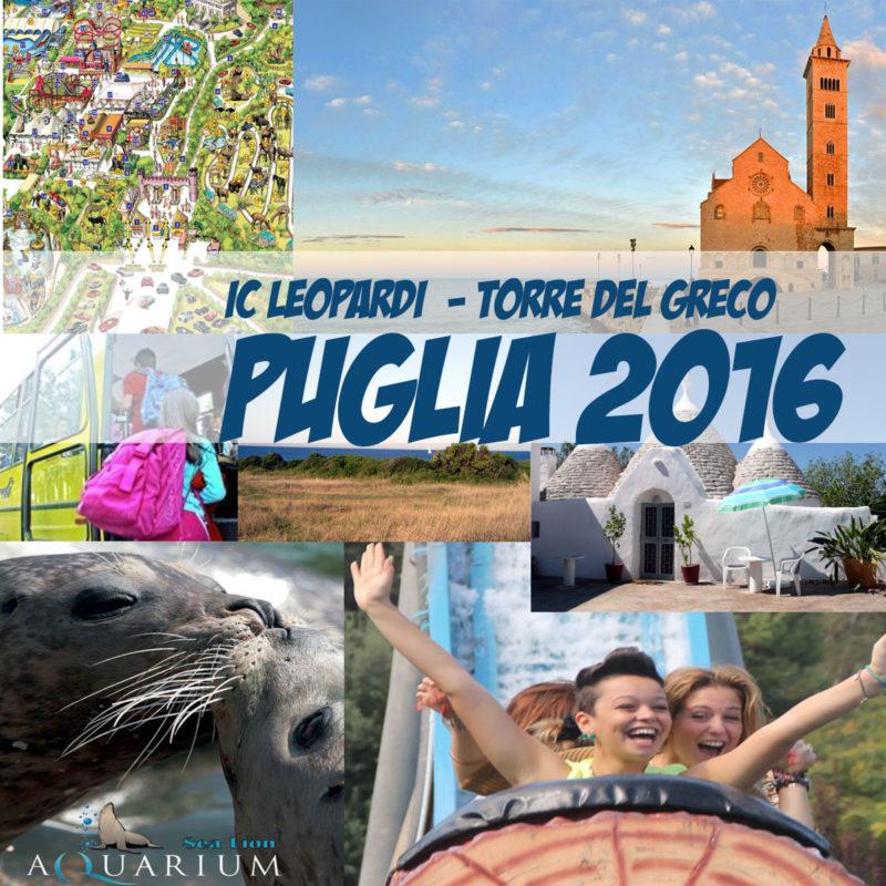 Viaggio di istruzioneclassi terze. Puglia 2016