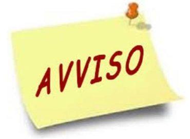 "Avviso 111 – Calendario ""Sportello ascolto"""