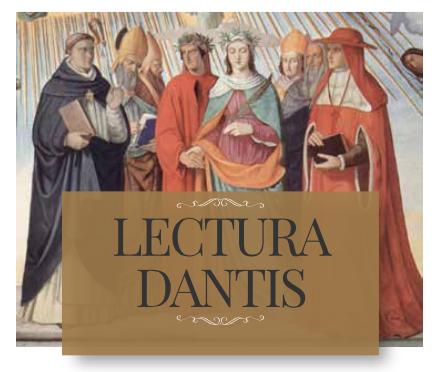 Lezioni di Humanitas alla Leopardi con la Lectura Dantis.