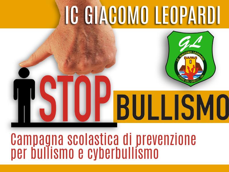 """Campagna scolastica di prevenzione """"Bullismo Stop"""""""