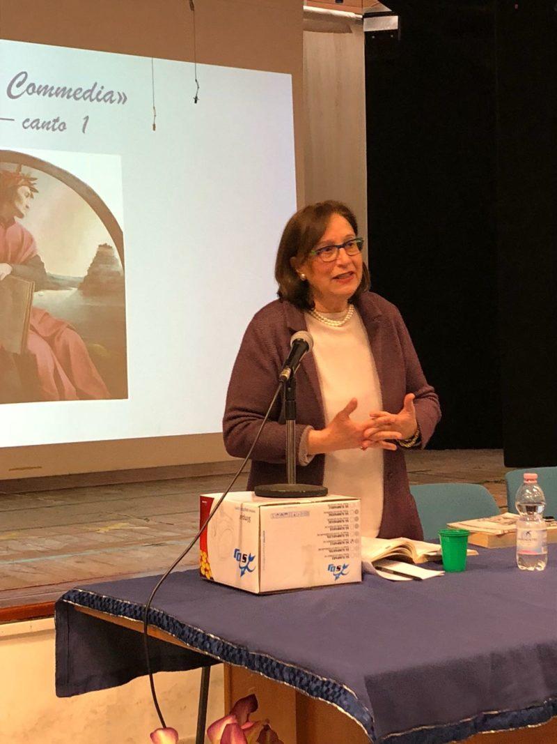 """La prof.ssa Elena Bianco alla Leopardi per la """"Lectura Dantis"""""""