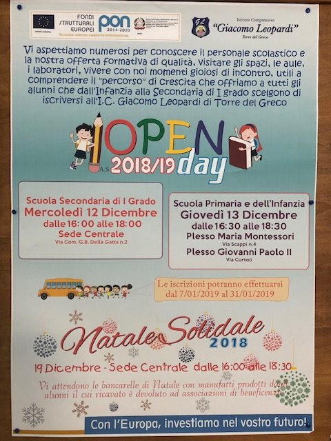 Open Day alla Primaria