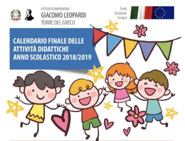 Eventi e spettacoli di fine anno scolastico 2018/2019