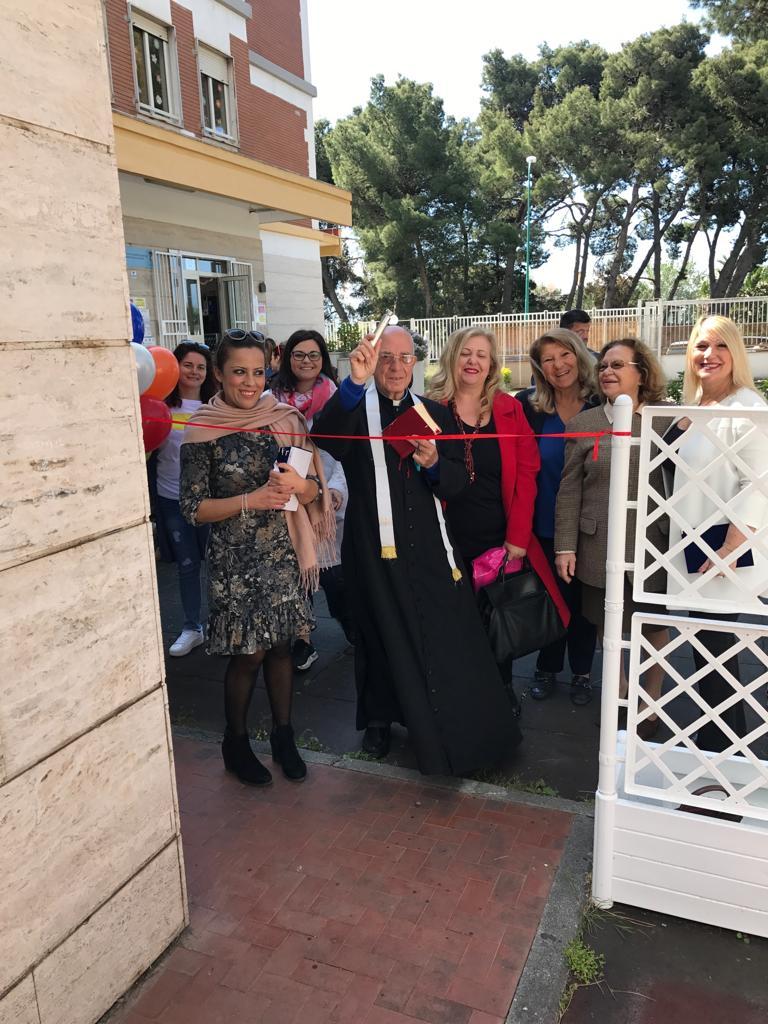 Inaugurazione area ludica per gli alunni dell'Infanzia del plesso Maria Montessori