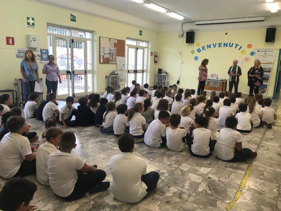 Benedizione d'inizio d'anno scolastico al plesso M. Montessori: 23 Settembre 2019.