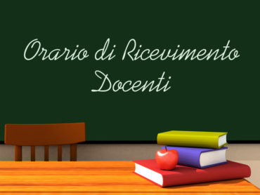 ORARIO RICEVIMENTO DOCENTI S.S. DI I GRADO – 2019/2020