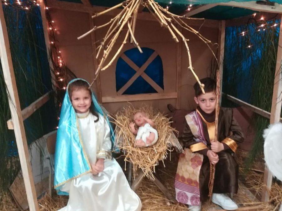 """Natale 2019: presepe vivente al plesso """"Montessori"""""""